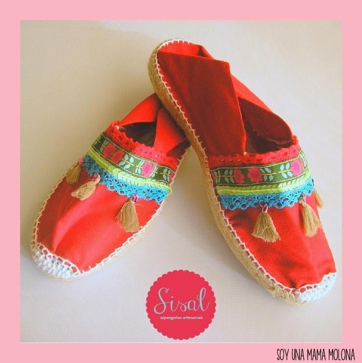 Alpargatas decoradas con lentejuelas - Pompones para zapatillas ...