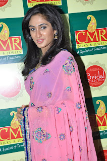 Deepti Sati in lovely Pink Saree at CMR Spicy Pics