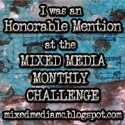 Mixed Media Monthly Challenge #9