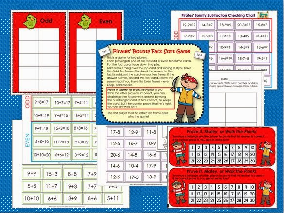 http://www.teacherspayteachers.com/Product/Pirates-Bounty-Fact-Sort-Addition-and-Subtraction-10-20-1207063