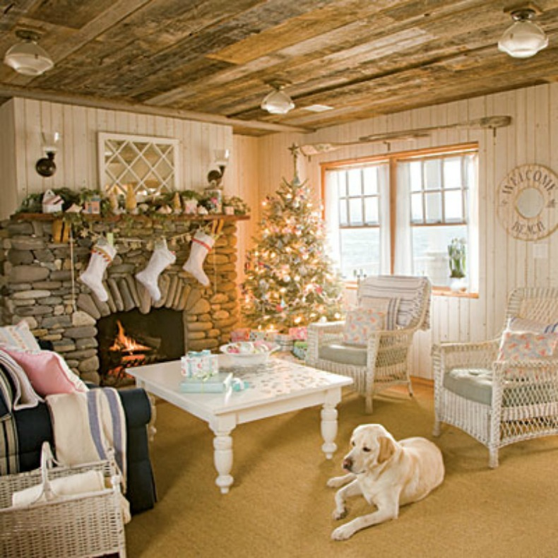 cottage holiday decor