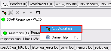 Adding Assertion to Test Request