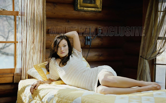 Olivia Wilde Hot in Bed