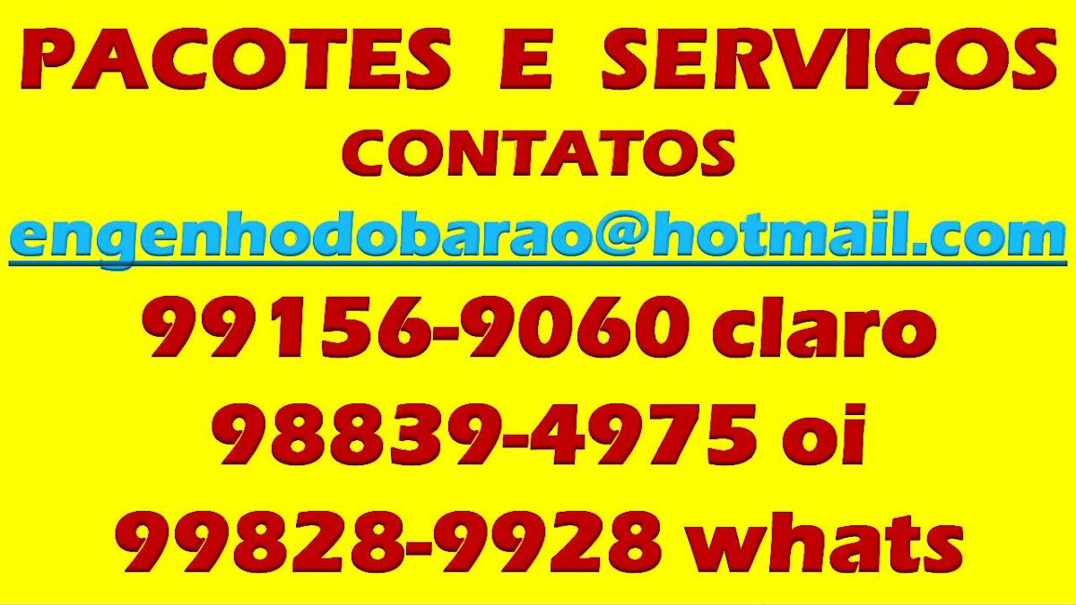 NOSSOS PACOTES E SERVIÇOS