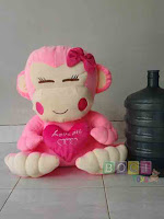 Boneka monkey Love