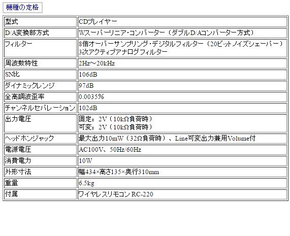 Bảng thông số kỹ thuật DCD-1130