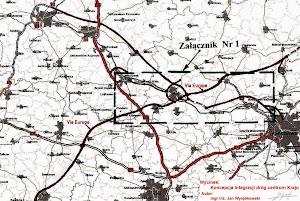 Koncepcja zintegrowana infrastruktury centrum Polski i droga Via Europe