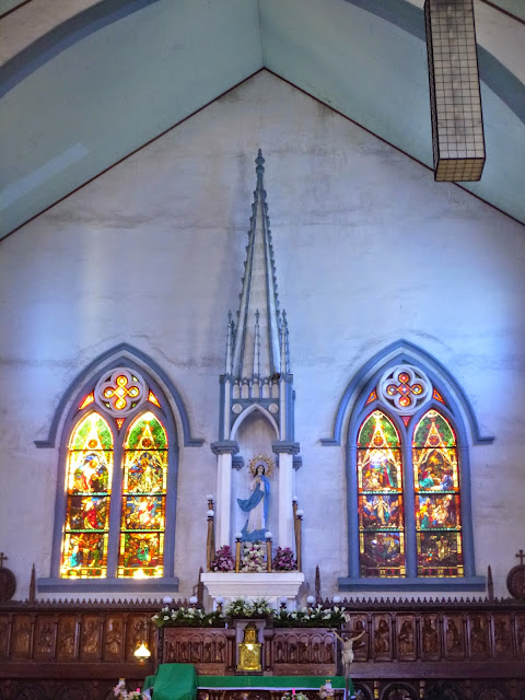 Altar of the Puerto Princesa Cathedral