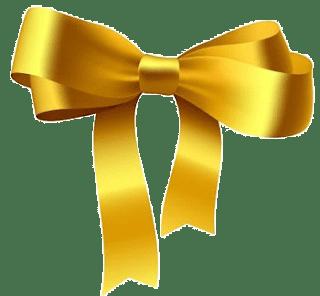 imagen de lazo dorado