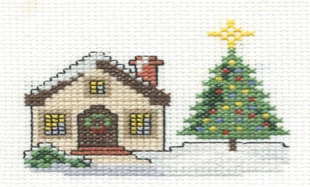 Patrones de Navidad en punto cruz ~ Un Manitas en Casa