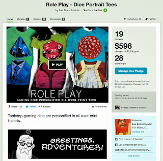 http://www.kickstarter.com/projects/leebretschneider/role-play-dice-portrait-tees
