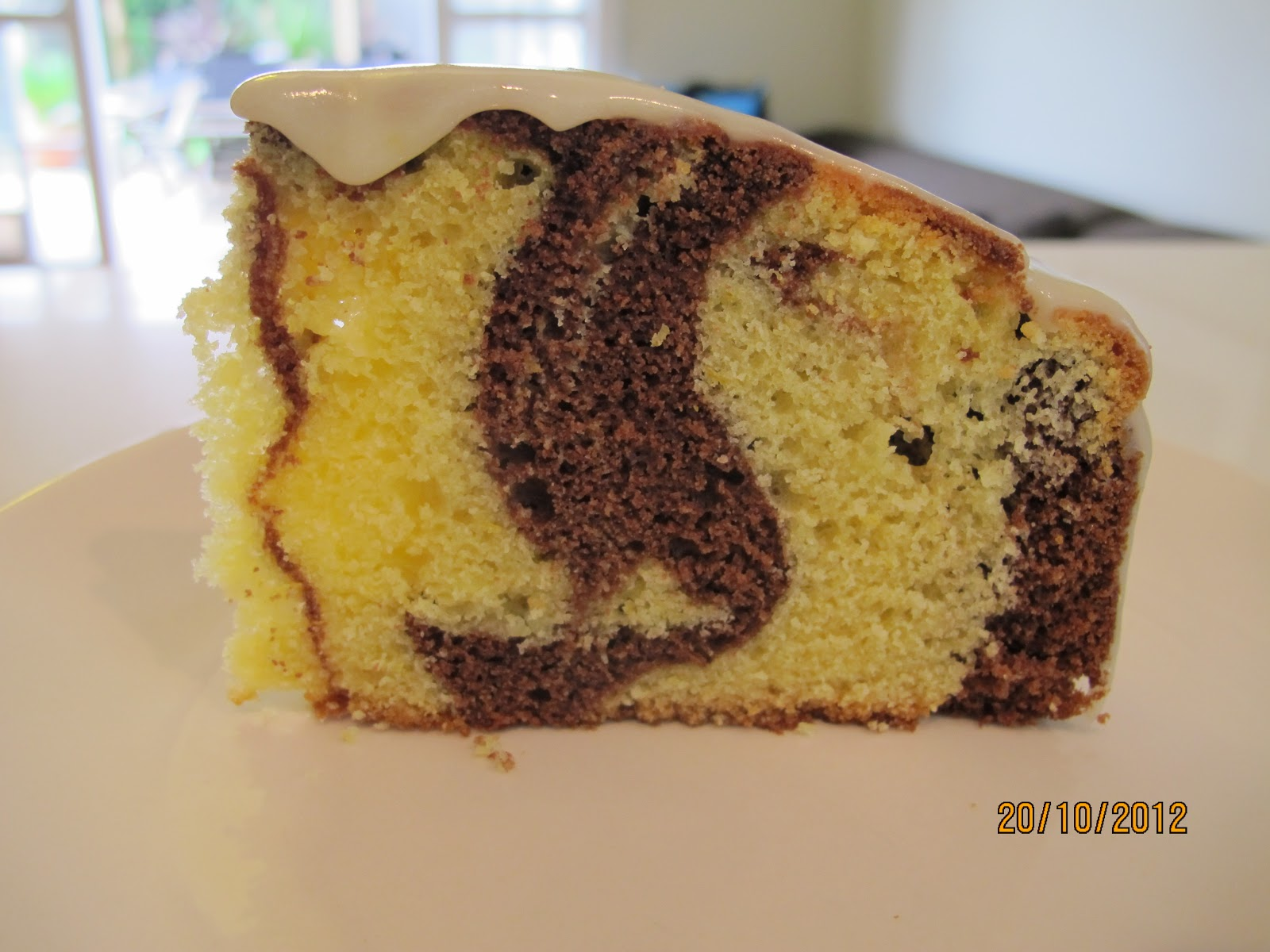 how to make easy marble cake