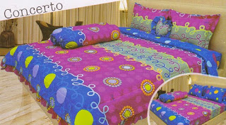 sprei Lady Rose Concerto