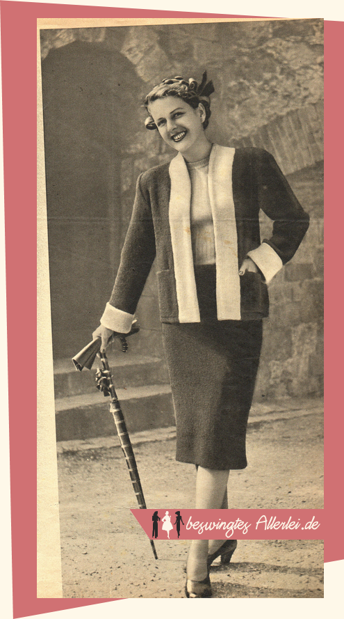 Frauenhilfe, Handarbeitsheft, Nähen, Stricken, 50er Jahre, Nähzeitschrift, 1951