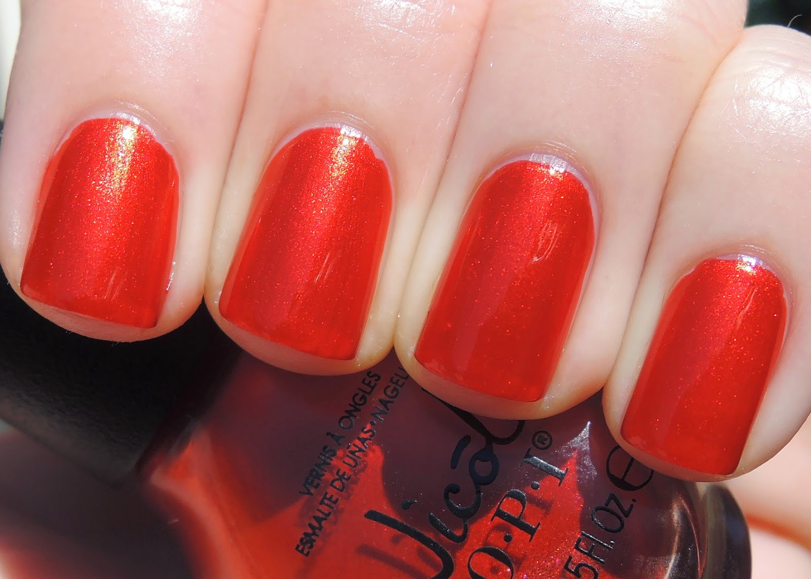 NOPI Always a Classic Coca-Cola swatch Nicole by OPI