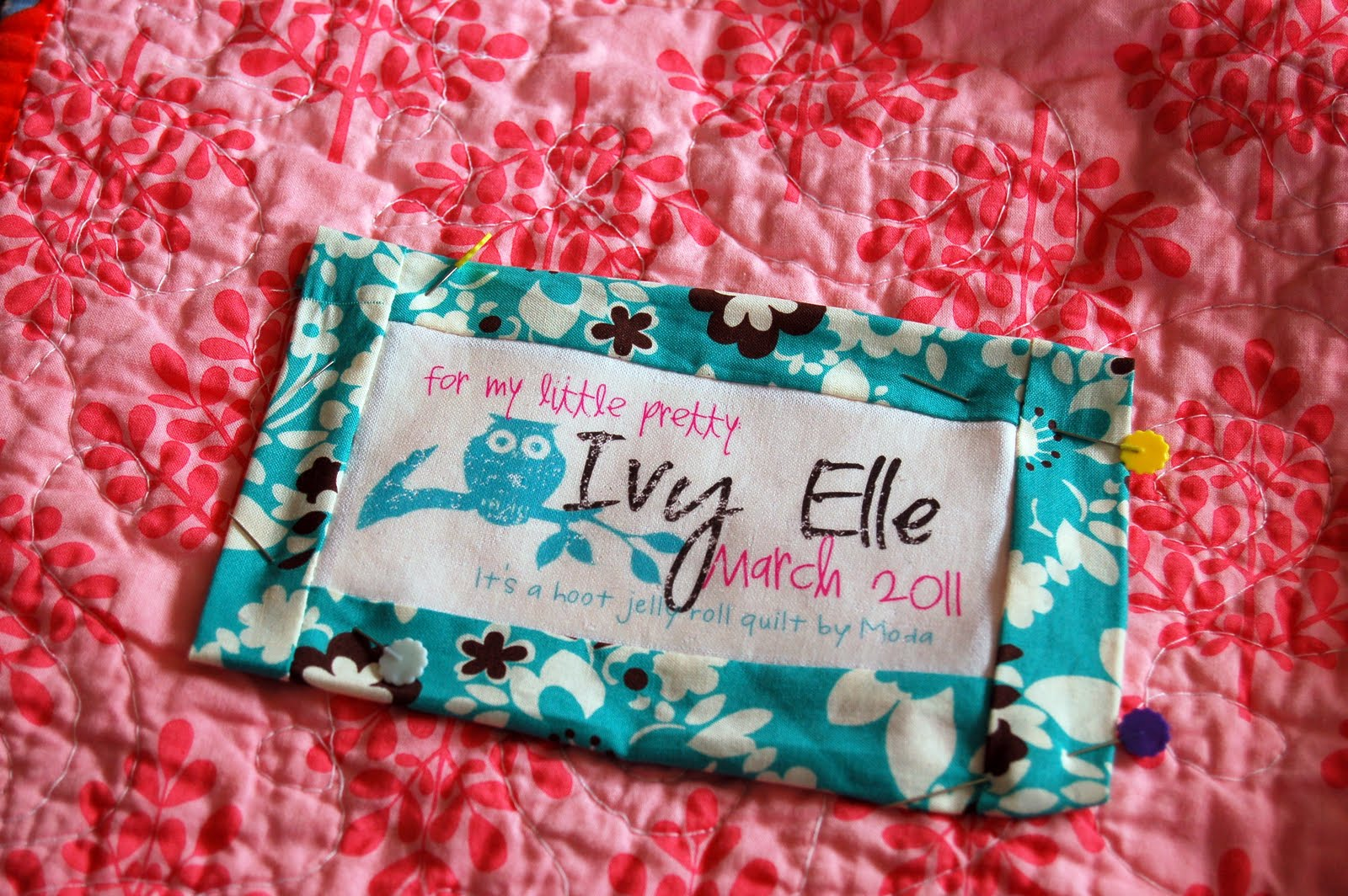 DIY Quilt Labels - iCandy handmade : quilting tags - Adamdwight.com