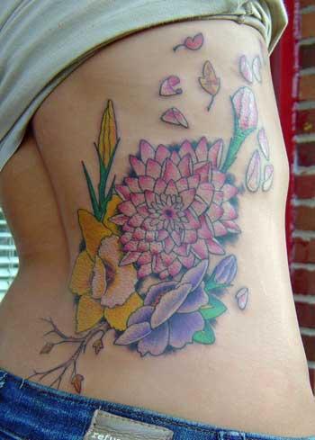 Allentryfashionupdates tattoos for women on side of stomach for Tattoos on side of stomach