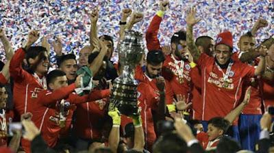 Tuan Rumah Chile Rebut Gelar Juara Copa America 2015 www.guntara.com