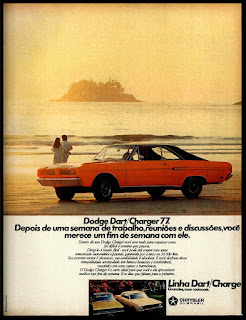 Dodge Dart - Charger-77; Dodge; Chrysler anos 70; brazilian advertising cars in the 70. os anos 70. história da década de 70; Brazil in the 70s; propaganda carros anos 70; Oswaldo Hernandez;