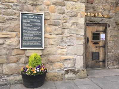 The Blackbird Pub beer garden, Ponteland