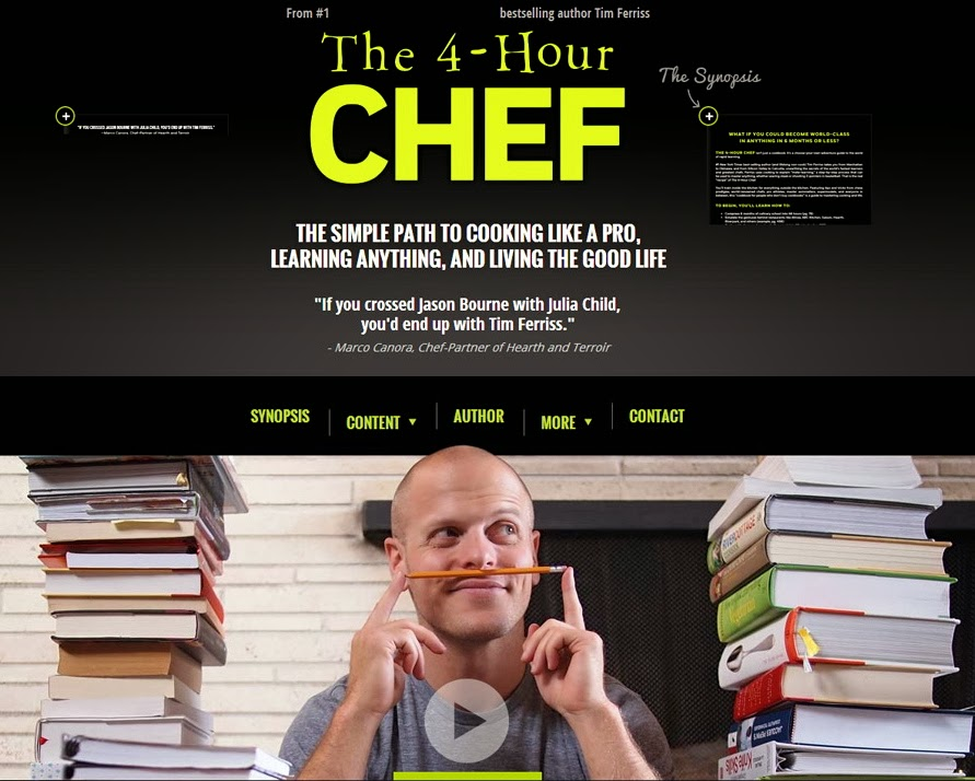 Tim ferriss 4 hour chef