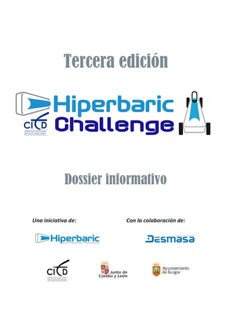 Dossier 3ª Edición Hiperbaric Challenge