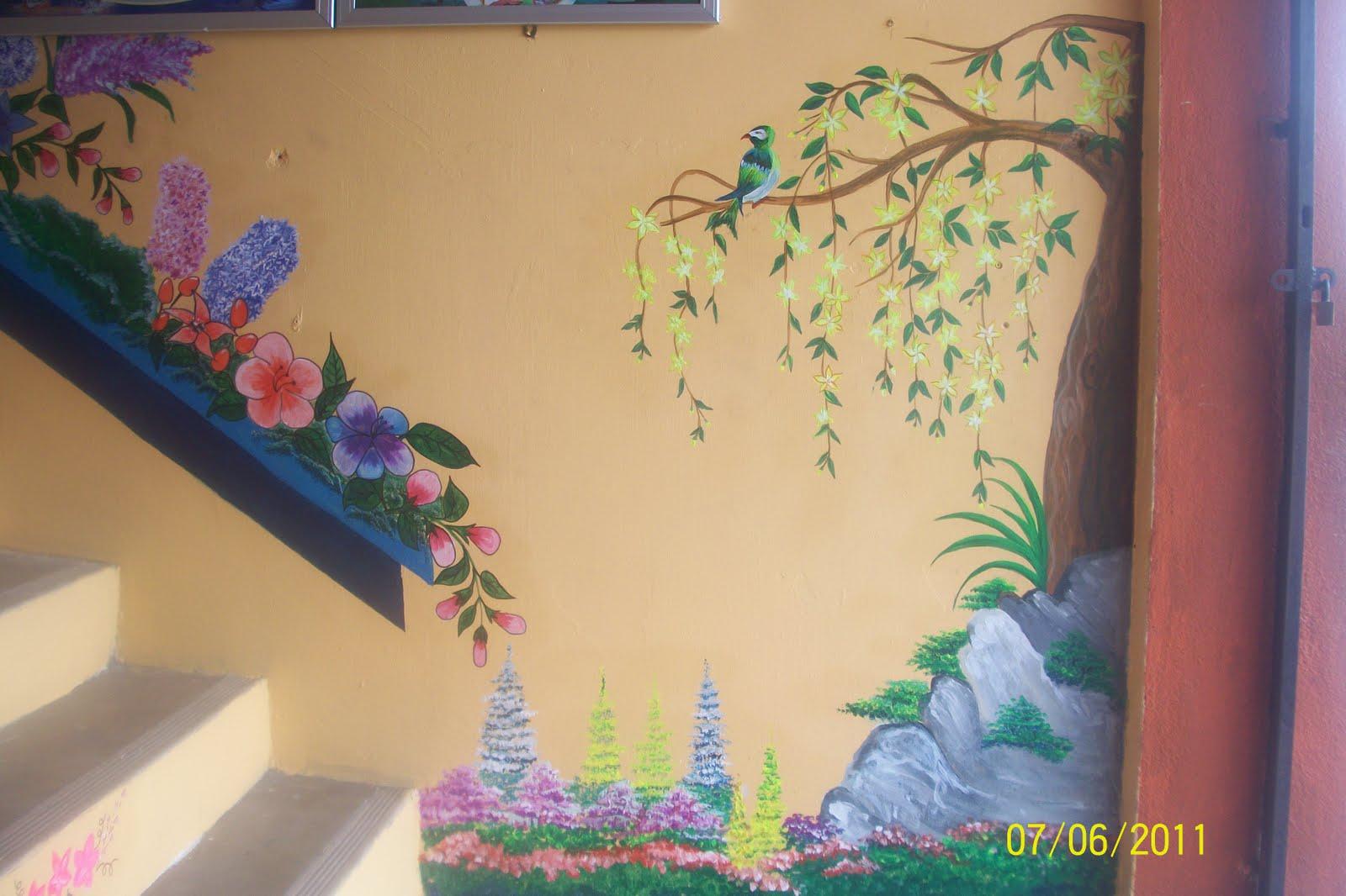 mural contoh lukisan dinding mural