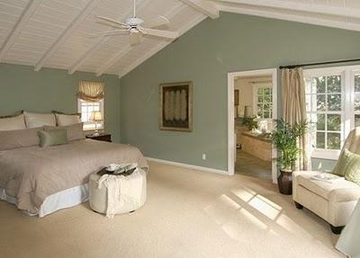 Marta decoycina color verde apuesta por el - Dormitorio verde ...