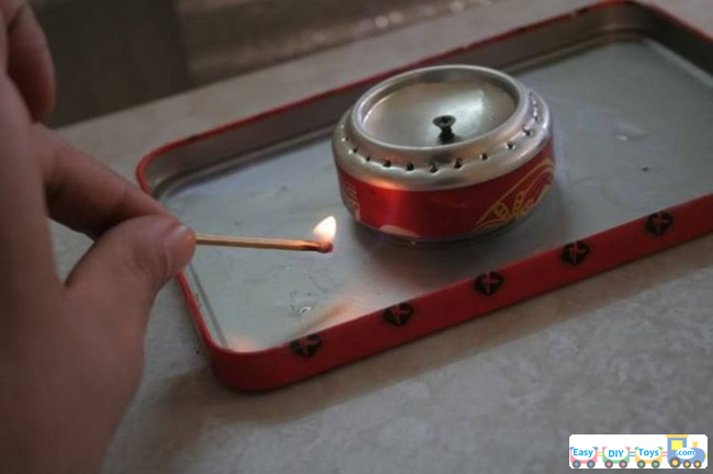 DIY Spirit Stoves Camping From Coke Can