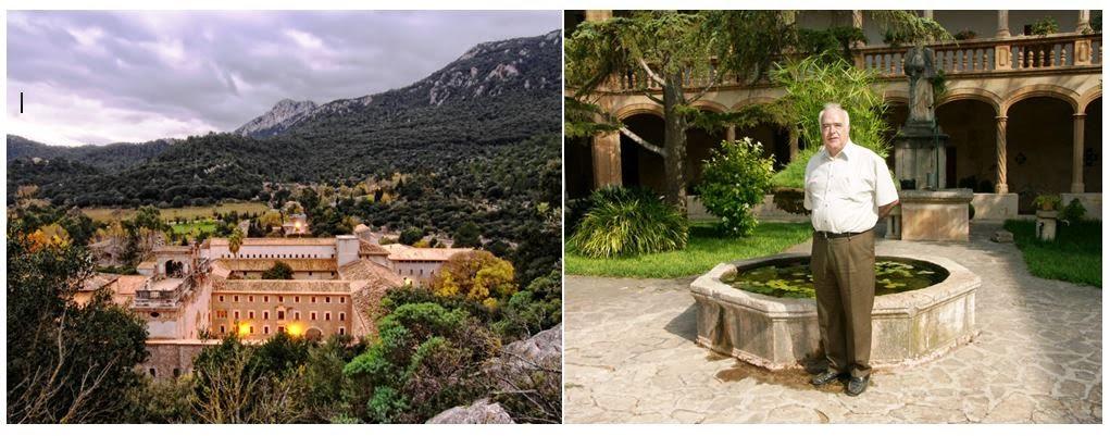 El Santuario de Lluc, donde reside el autor.