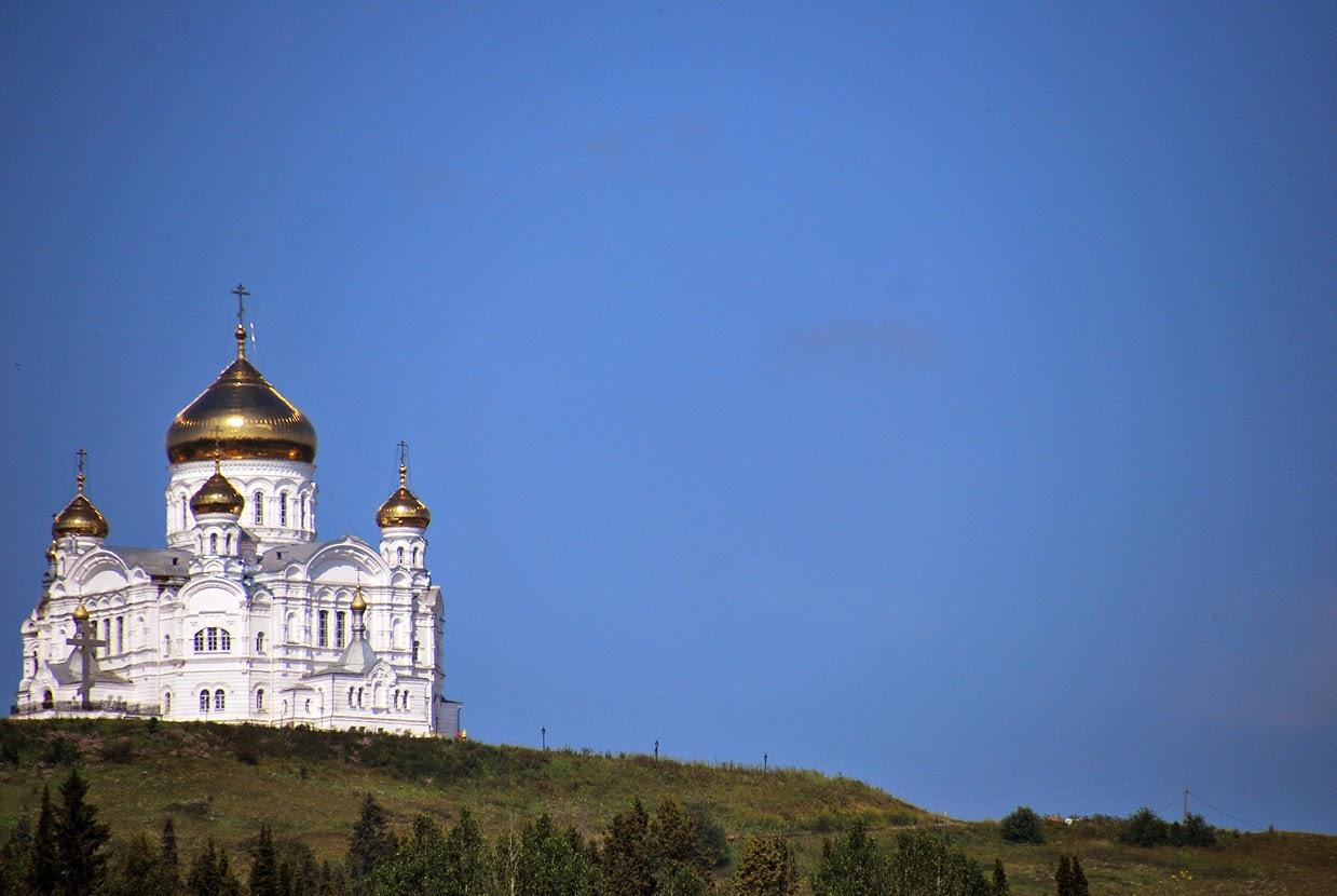 храм монастыря в Белой горе
