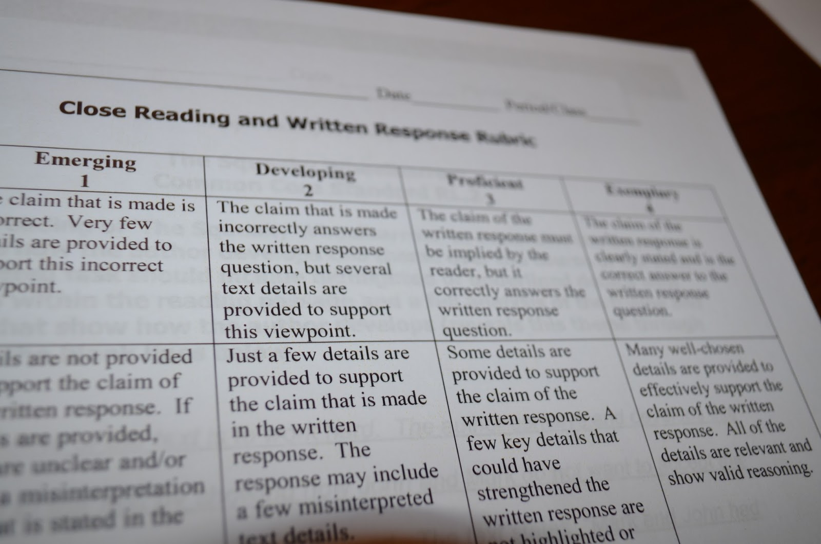 writing and close reading Close reading exemplars pull together several key shifts within the ccss in a   to craft short writing assignments about various aspects of the text (including.