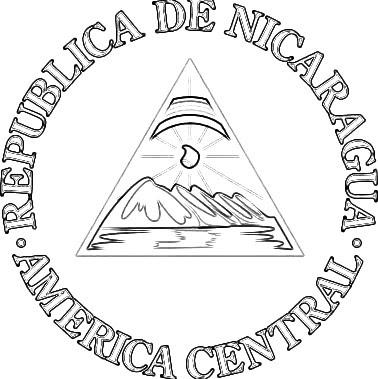 LAMINAS PARA COLOREAR - COLORING PAGES: Mapa y Bandera de Nicaragua ...