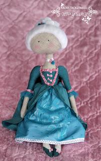кукла, текстильная кукла, авторская кукла, игрушка