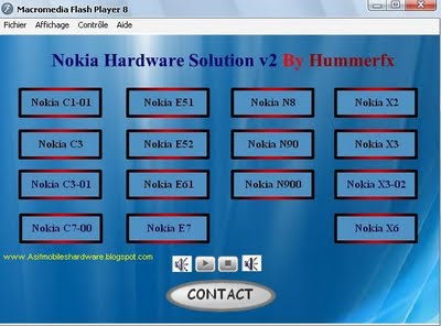 NoKia Latest Models Hardware repair Solutions Collection 2012