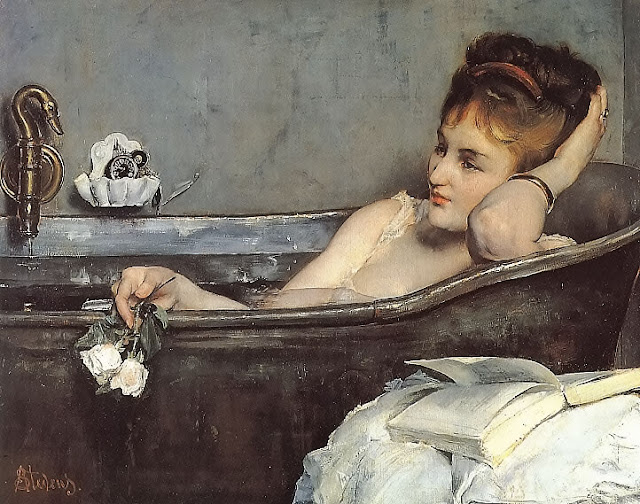 The Bath, Alfred Stevens, Balneology, Balneal, Bathing