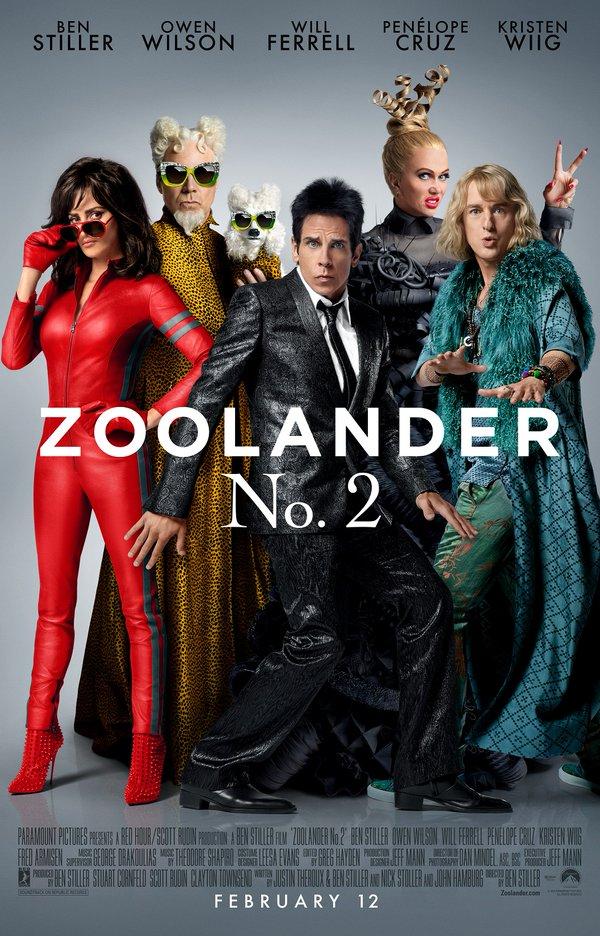 ズーランダー2 ポスター