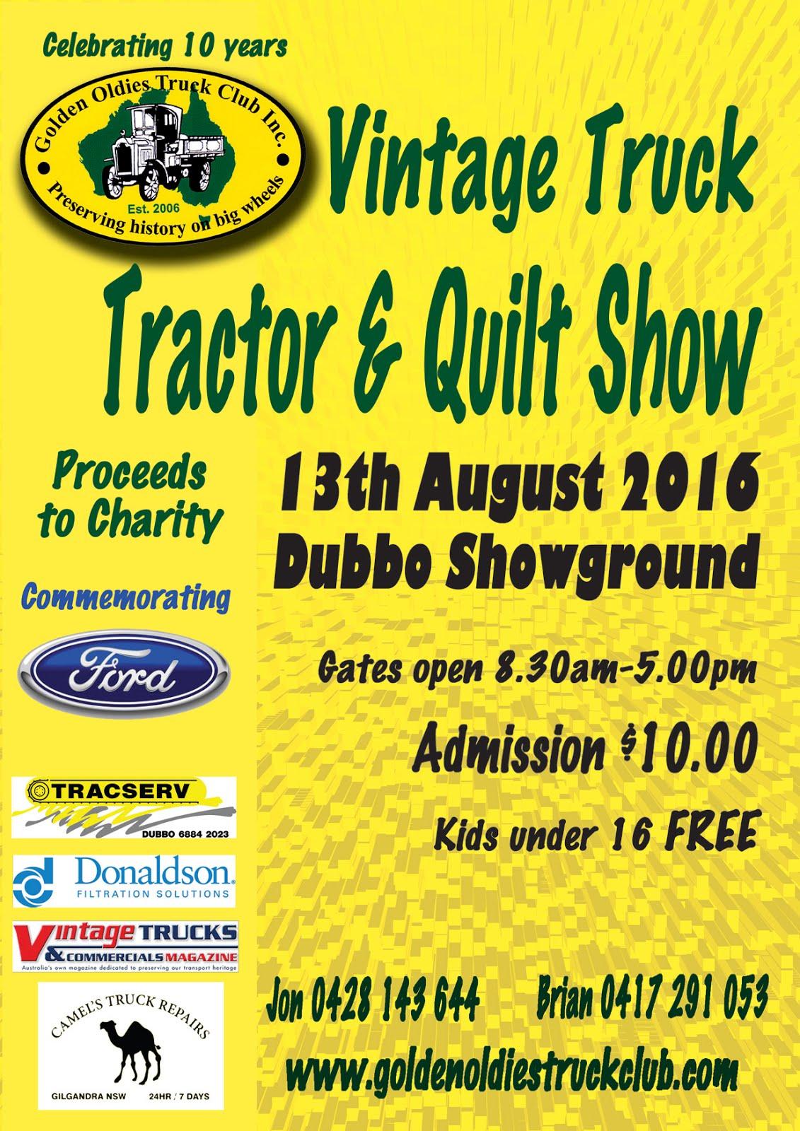 Golden Oldies Truck Show, Dubbo Showgrounds