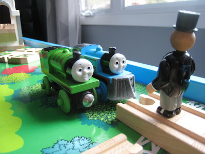 Sir Topham Hatt and Thomas