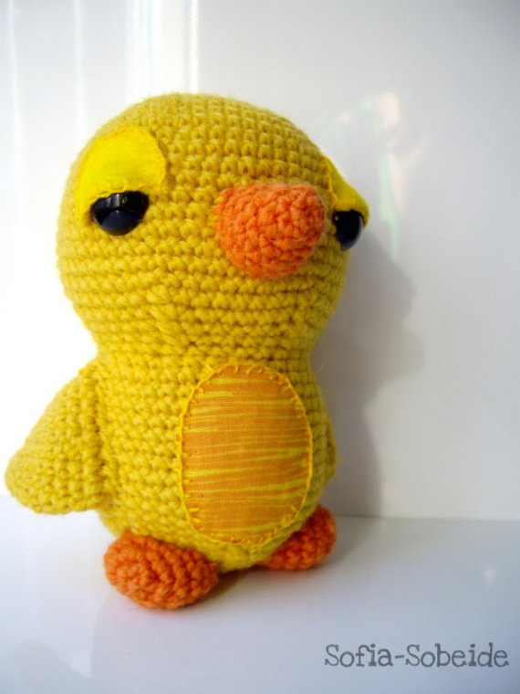 Amigurumi Tweety Bird : Purple Chair Crochet: Unexpected and Birdiful (Fantastic ...