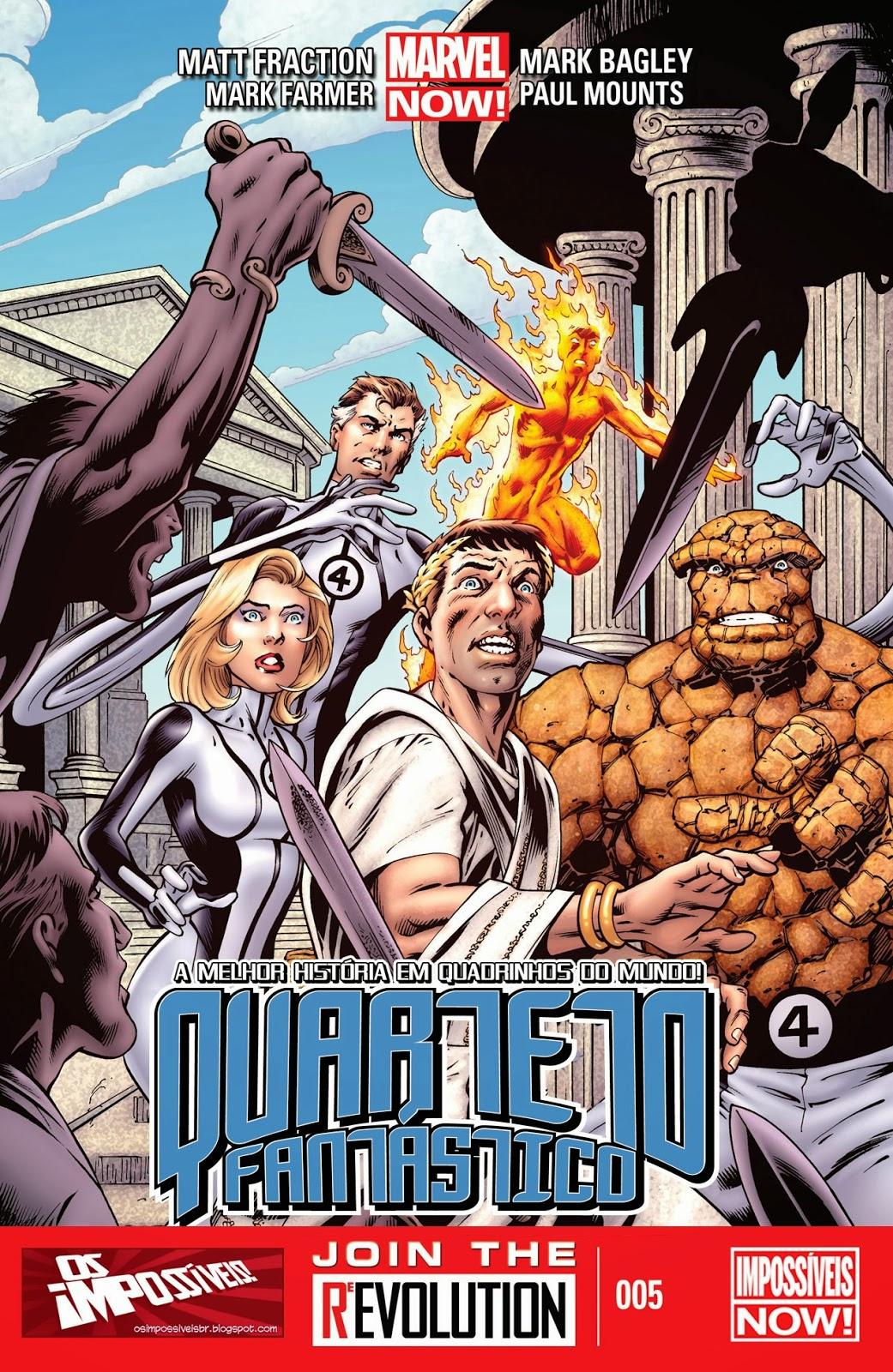 Nova Marvel! Quarteto Fantástico #5
