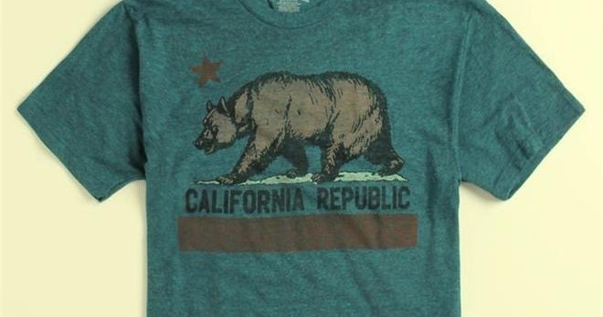 Bear Flag Museum True Vintage Brand Heather California