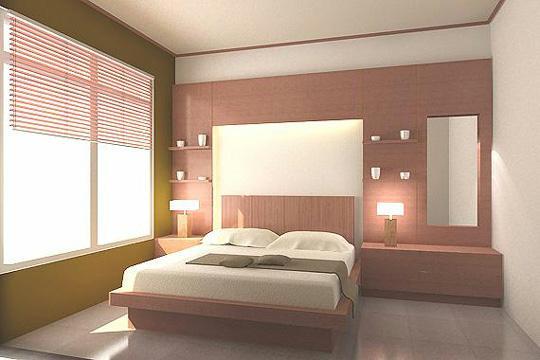 Galeri ide Warna Cat Dinding Interior Kamar Tidur Minimalis 2015 yang apik