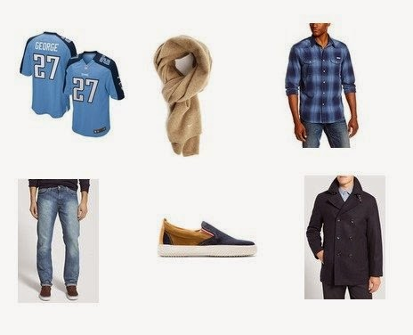 His and hers NFL fashion outfits, Tennessee Titans Jersey