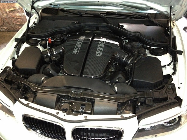Inside picture of BMW 1M sedan