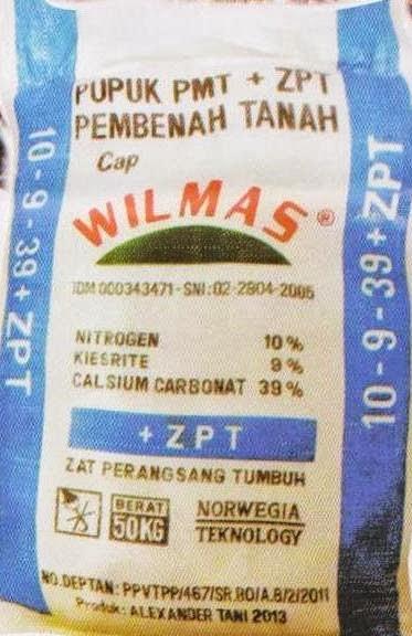 "PUPUK WLMAS ""PMT + ZPT PEMBENAH TANAH"""