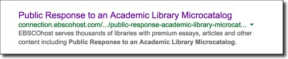 ebsco paper 2 The latest tweets from ebsco (@ebsco) ebsco information services is the leading provider of resources for libraries including discovery, resource management, databases and e-books worldwide.