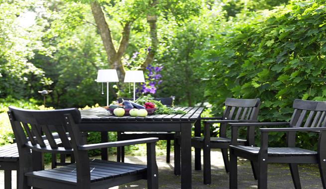 Un giorno di festa non solo wedding ikea for gardens - Muebles jardin ikea ...
