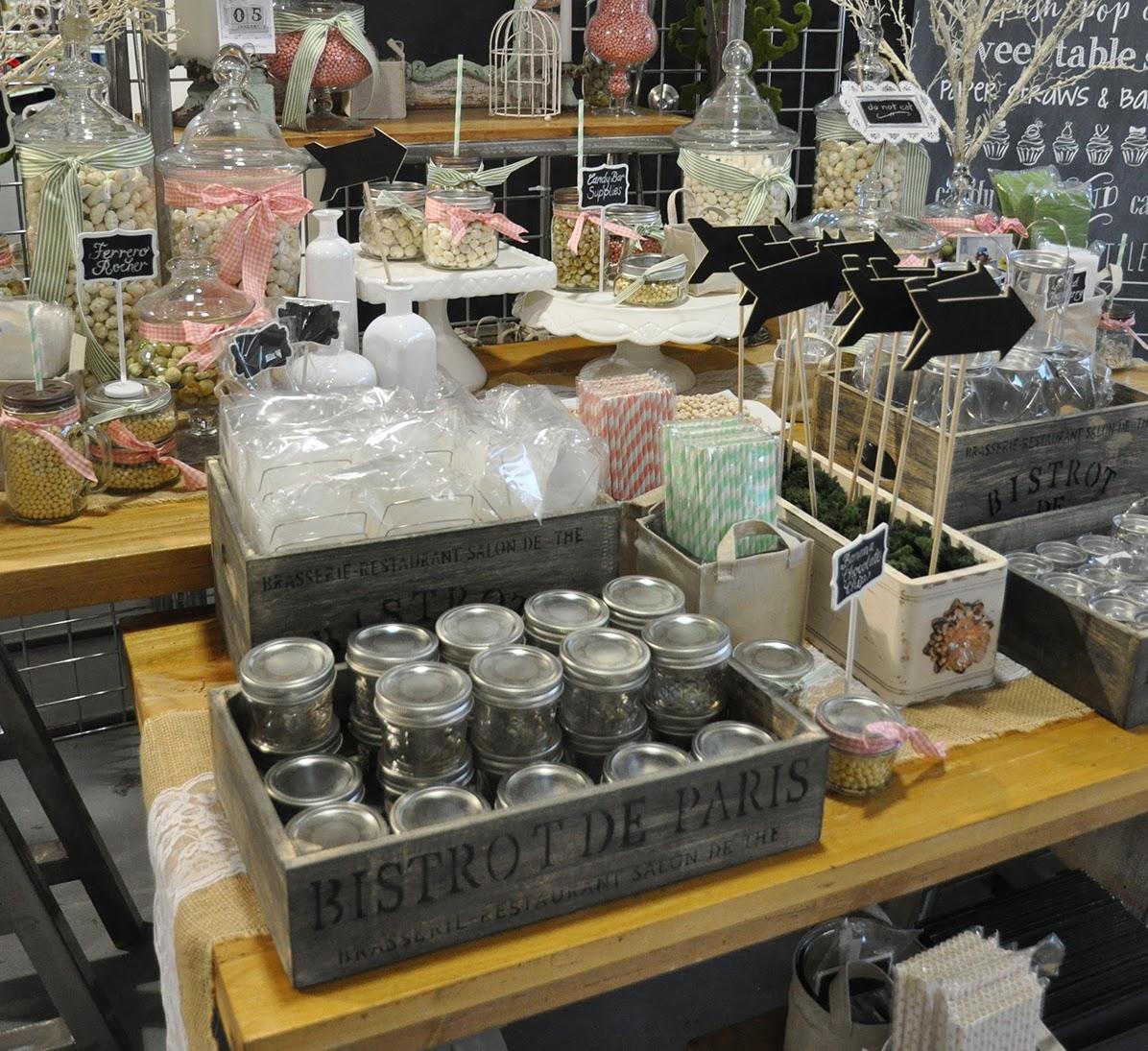 sweet table supplies from Creative Bag | creativebag.com