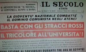 """""""SECOLO D' ITALIA"""""""